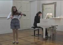 Gala koncert v Zasebni glasbeni šoli v samostanu svetih Petra in Pavla