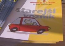 """Akcija """"Starejši voznik"""" za povečanje varne mobilnosti"""