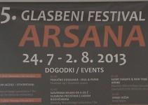 Kaj bo prinesel 5. Mednarodni glasbeni festival Arsana?