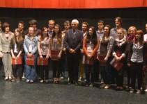 Nemške jezikovne diplome letos prejelo enaindvajset ptujskih gimazijcev