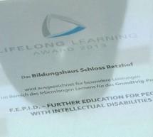 Ljudski univerzi Ptuj plaketa za projekt FEPID