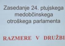 24. ptujski medobčinski otroški parlament
