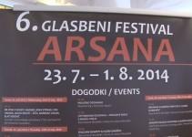 6. glasbeni festival Arsana