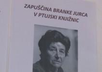 Razstava Zapuščina Branke Jurca