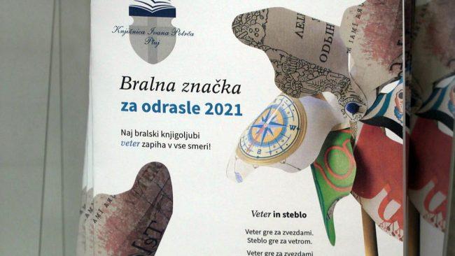 Bralna značka za odrasle 2021