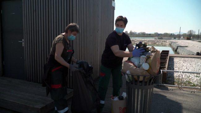 Povečane količine odpadkov