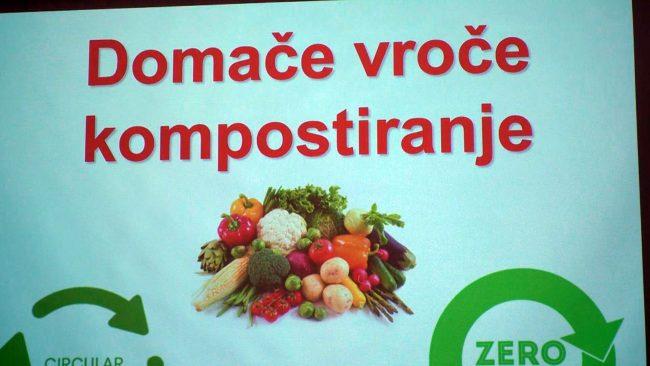 Predavanje o vročem kompostiranju