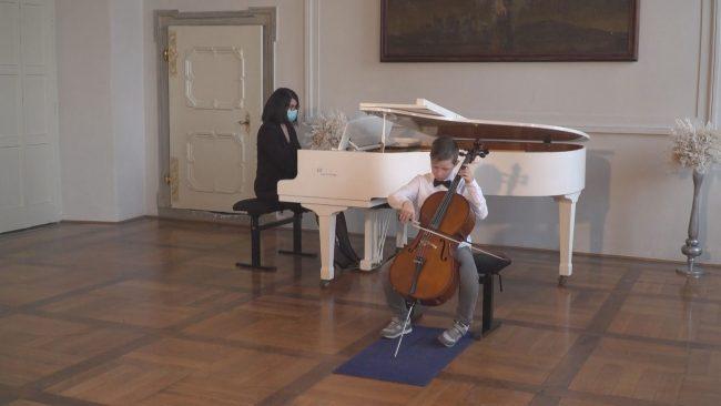 10. gala koncert Učencev Zasebne glasbene šole v samostanu svetih Petra in Pavla