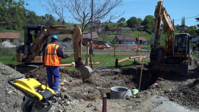 Dela v sklopu projekta Odvajanje in čiščenje odpadne vode v porečju Drave – Mestna občina Ptuj