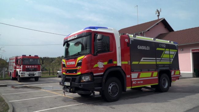 Delovanje Prostovoljnega gasilskega društva Grajena