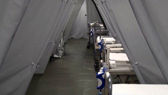 V ptujski bolnišnici so zaprli covidna oddelka