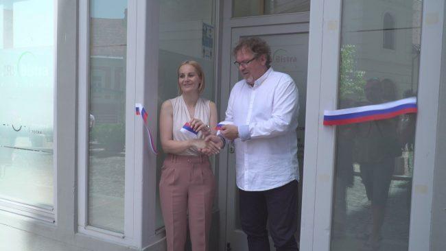 Znanstveno-raziskovalno središče Bistra je odprla nove prostore