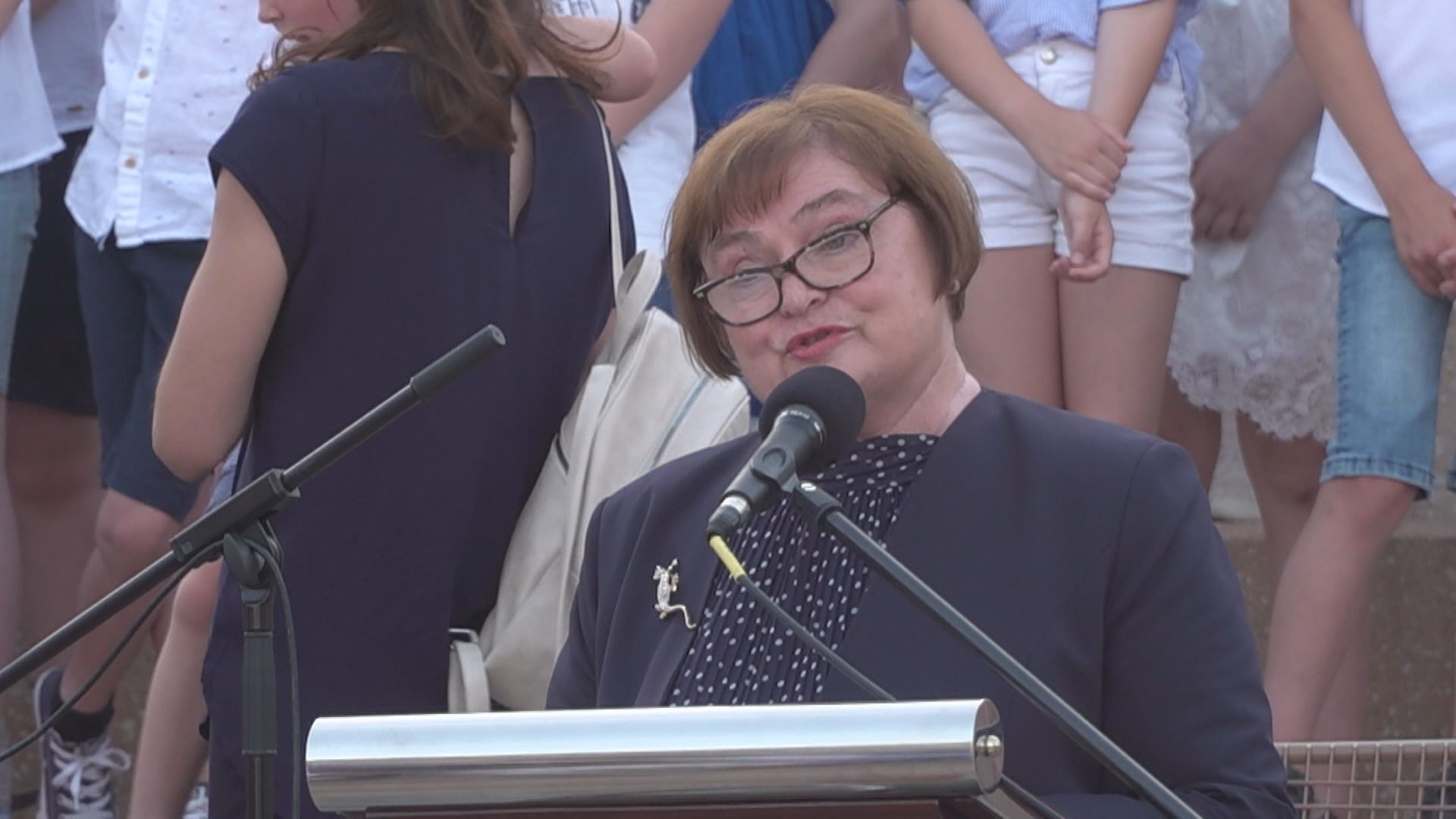 Portal: Nagovor slavnostne govorke Marije Hernja Masten, častne občanke Mestne občine Ptuj ob Dnevu državnosti