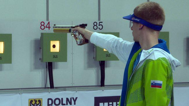 Deveti nastop Saša Stojaka na evropskem prvenstvu v streljanju