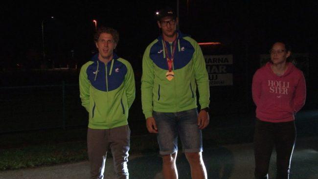 Trije atleti so tekmovali na evropskem prvenstvu v Talinu