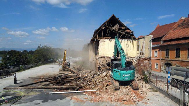 Odstranitev objekta Koteks