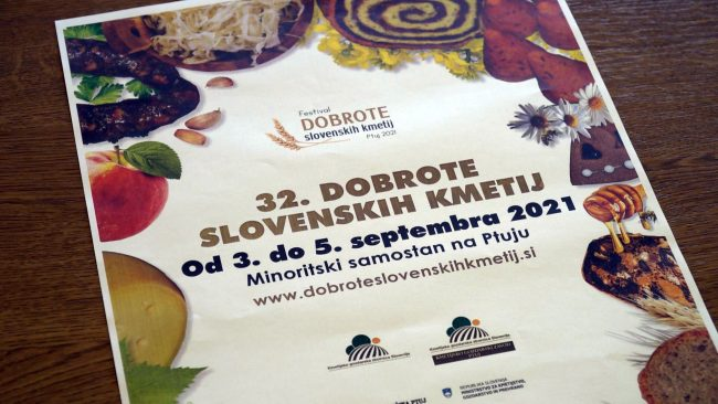 Predstavitev 32. Dobrot slovenskih kmetij