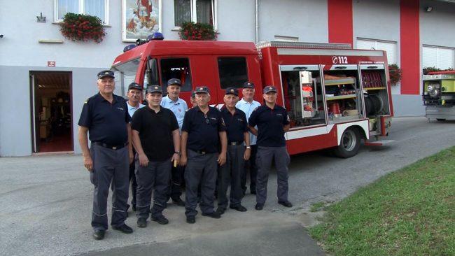 Nova gasilska avto prikolica za člane PGD Podvinci
