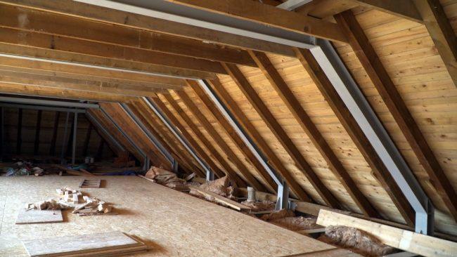 Projekt Rekonstrukcija ostrešja Osnovne šole Olge Meglič