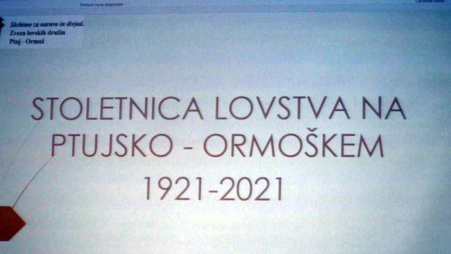 100 let Zveze lovskih družin Ptuj-Ormož