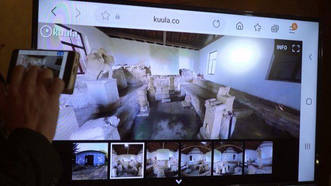Virtualni arheološki muzej Ptuj
