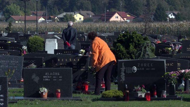 Priprave na 1. november – dan spomina na mrtve