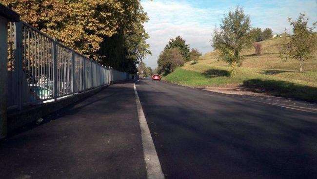 Obnova ceste na Vičavi