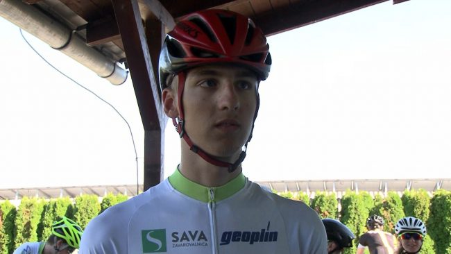 Vid Jeromel tekmoval na evropskem in svetovnem prvenstvu v kolesarstvu